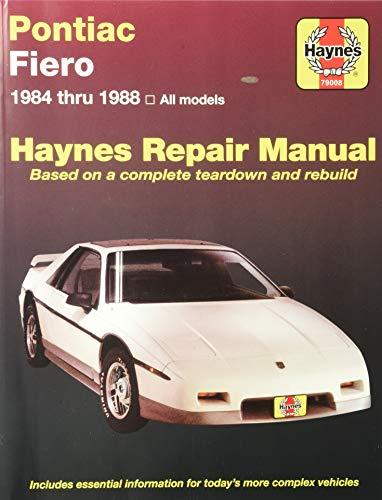 Pontiac Fiero '84'88 (Haynes Repair Manuals)