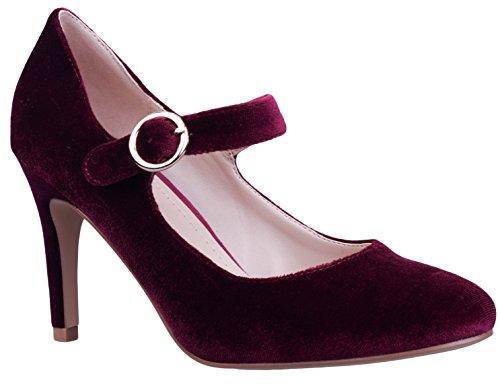 Bordeaux Chaussures 41 36 Femme Greatonu Escarpins EU vwgxYq