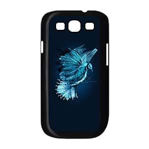 Samsung Galaxy S3 9300 Cell Phone Case Black Blue Jay