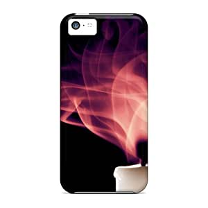Slim Fit Tpu Protector Shock Absorbent Bumper Candle Case For Iphone 5c