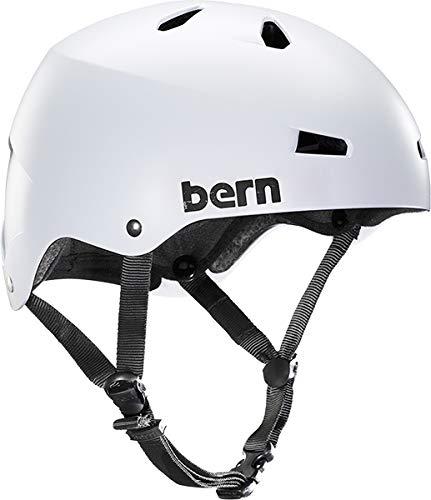 Bern 2017 Men's Macon Summer Skate Hard hat (White - XL)