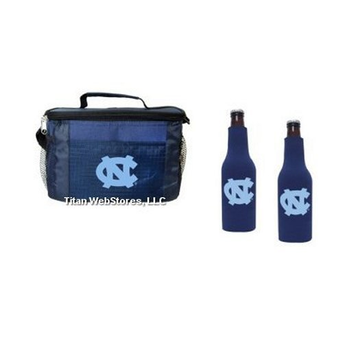 - NCAA North Carolina 6 Pack Cooler & Bottle Suit (2) Set | Tar Heels Gameday Cooler Set