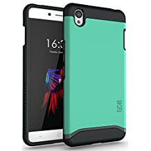 TUDIA Slim-Fit MERGE Dual Layer Protective Case for OnePlus X (Mint)