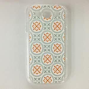 GJY Punk Flower Stripe Pattern Plastic Hard Case for Samsung S3 I9300 , Multicolor