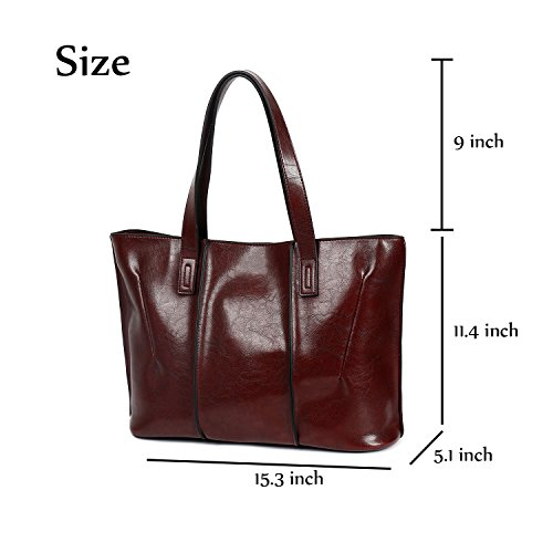 Bag for Ephraim Women Handle Shoulder Casual a Tote Bag Handbags Bag Coffee Ladies Designer Top PU 7qdrxqa8
