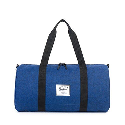 Herschel Supply Co. Sutton Mid-Volume Duffle Bag, Eclipse Crosshatch/Black by Herschel Supply Co.