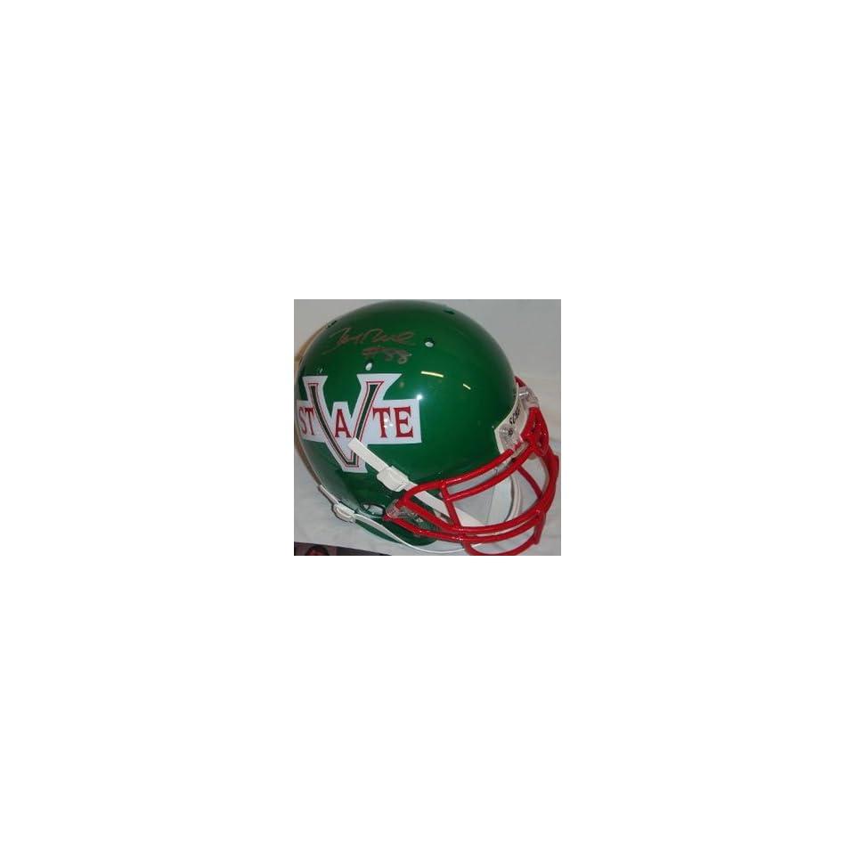 Jerry Rice Autographed Helmet   Authentic