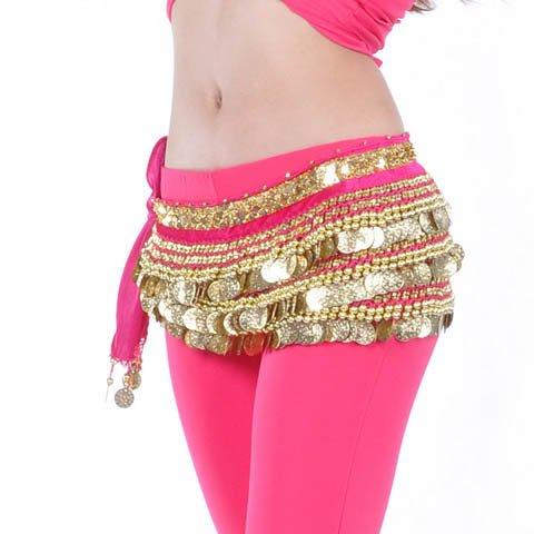 de Style Idée avec Hip jupe Noël de Belly Dance Écharpe Cadeau de 4 paillettes x0Uqq7vw