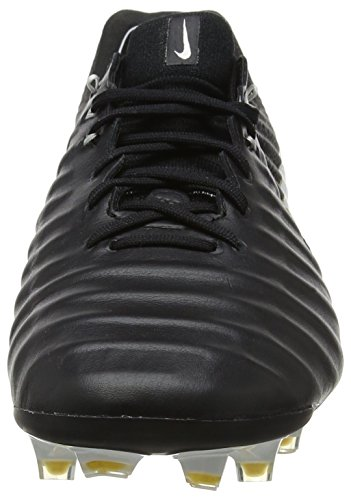 Nike Heren Tiempo Legende Vii Fg Voetbal Cleat Zwart / Wit