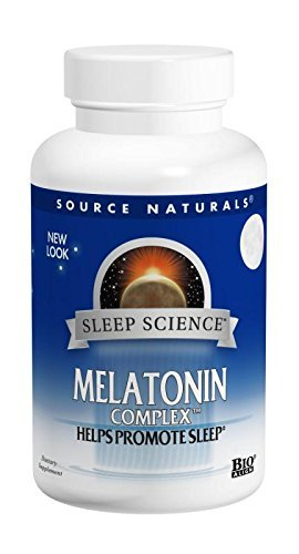 Sublingual Peppermint 50 Tablets (Source Naturals Melatonin Complex, Peppermint, 3 Mg, 50 Lozenges (Pack of 2))