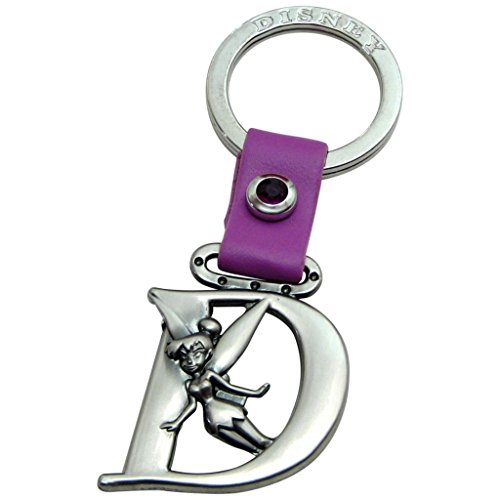 (Tinkerbell Letter D Peter Pan Disney Pewter Keychain)