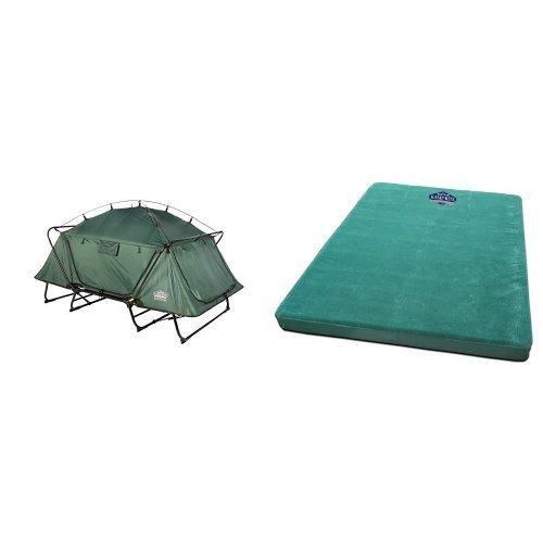 KampRite Double TentCot and Kamp-Rite Double Self Inflating Pad Bundle