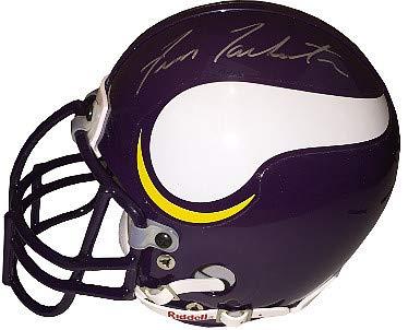 Fran Tarkenton Autographed Signed Minnesota Vikings Authentic Riddell TB mini helmet - JSA Authentic ()
