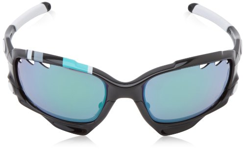 Oakley Racing Jacket Sunglasses  amazon: oakley racing jacket non polarized iridium oval sunglasses,polished black,62 mm: clothing