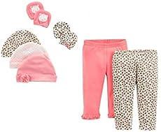 f0e30cbe0cb5 UPC 888767686824 Child Of Mine by Carter s Newborn Baby Girl Pants ...