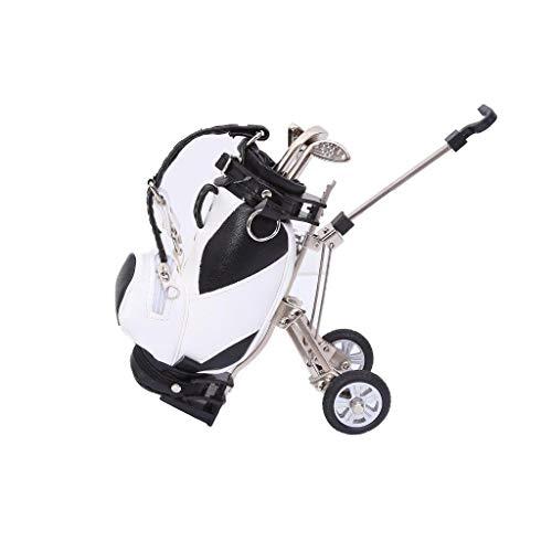 - Lightahead Mini Desktop Golf Souvenir Set with 3 Pens Shaped Like Golf Clubs a Miniature Golf Bag Pen Holder .Great, Novelty Golf Gift Set for Any Golf Enthusiast