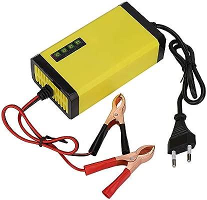 Tonysa 12V 2A Cargador de batería Inteligente Batería portátil con ...