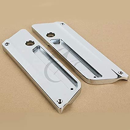 Frames & Fittings Metal Chrome Saddlebag Latch Covers For Harley Touring Road King Electra Glide Motorcycle Accessories & Parts