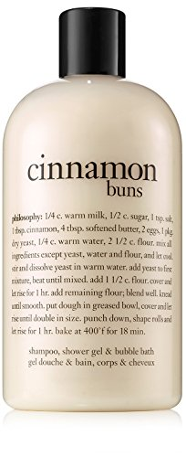 Philosophy Cinnamon Buns - Philosophy Cinnamon Buns Shampoo/Shower Gel/Bubble Bath, 16 Ounces