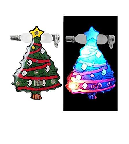 COOLMINIPRIX Set di 12–Badge/Magnet LED Albero di Natale–qualità