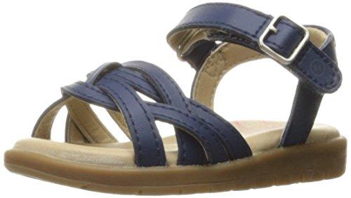 Stride Rite Kids Millie Fashion Sandals, Navy, 9 M US Toddler