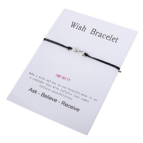 HOUSWEETY Make Wish Bracelet 14cm 28cm