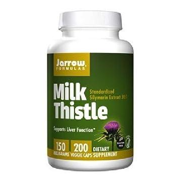 Jarrow Formulas – Milk Thistle 150 mg 200 Veg Caps Pack of 2