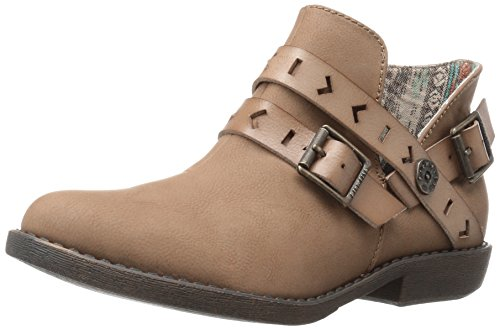 Blowfish Womens Anotole Fotled Bootie Sand Old Mexico Pu