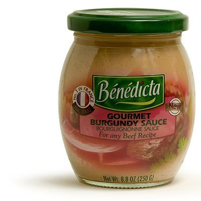 Benedicta Gourmet Burgundy Sauce - Sauce Bourguignonne - 8.8 oz.