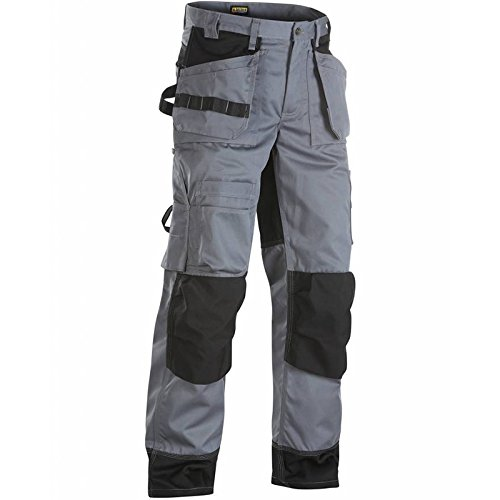 IN Grey//Black 150418609499C48 TrousersFloorlayer Size 33//32 Metric Size C48