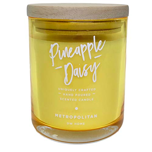 DW Home Metropolitan Collection Pineapple Daisy Scented Candle (Candle Scented Daisy)