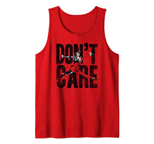 Harley Quinn Don't Care Tank Top