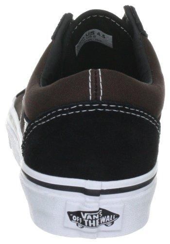 Vans Old Skool VKW661B - Zapatillas de deporte de ante unisex Negro