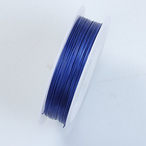Royal Blue Color Wire 26 Gauge,Thickness 0.4MM WRB-101-26G