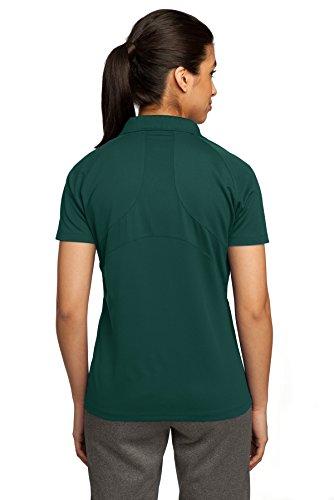 Sport-Tek Ladies Dri-Mesh Pro Sport Shirt, Dark Green, XX-Large