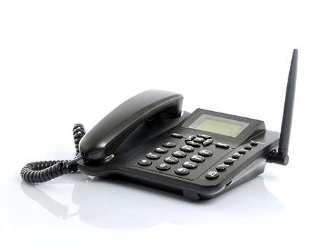 Teléfono con tarjeta Sim GSM, fijo, de mesa o escritorio. TIM, Vodafone Wind Quadband: Amazon.es: Electrónica