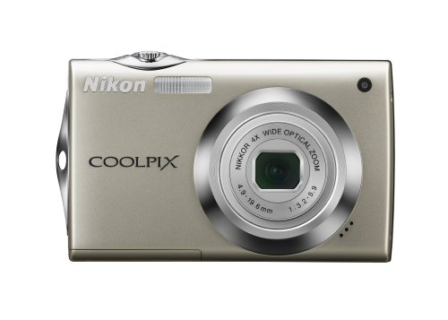 Nikon Coolpix S4000 12 MP Digital Camera with 4x Optical Vibration Reduction (VR) Zoom and 3.0-Inch Touch-Panel LCD - Nikon Detection Motion