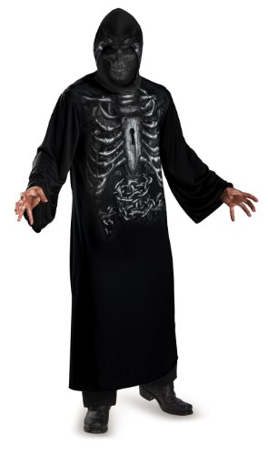 Disguise Reaper Hooded Print Costume