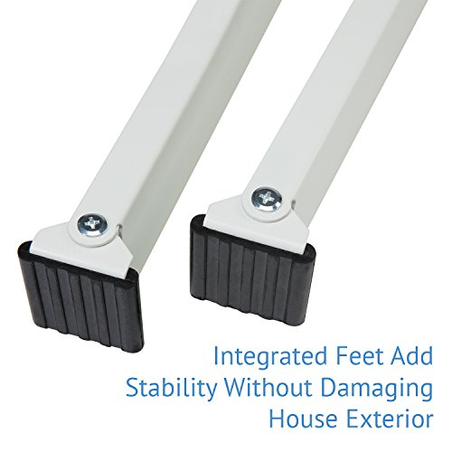 Ivation Window Air Conditioner Mounting Support Bracket – Easy To Install Universal AC Mount, No Tools Required – Heavy Duty Steel Construction Holds Up To 200 lbs – Fits Single Or Double Hung Windows by Ivation (Image #5)