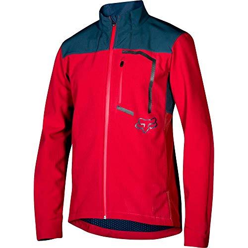 Fox Racing Attack Fire Softshell Jacket - Men's Cardinal, L