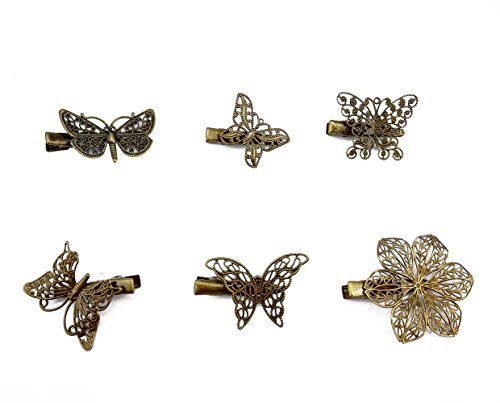 yueton Butterfly Dragonfly Headwear Accessories