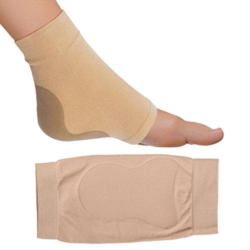 FootMatters Achilles Heel Sleeve Spandex Gel Cushions Large - Women 8-10 Men 9-11 by FootMatters (Image #3)
