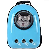 Bonaweite Astronaut Pet Cat Dog Puppy Carrier Travel Bag Breathable Portable Space Capsule Crate Backpack