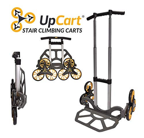 UpCart Lift 200lb Capacity Stair Climbing Folding Hand Truck ()