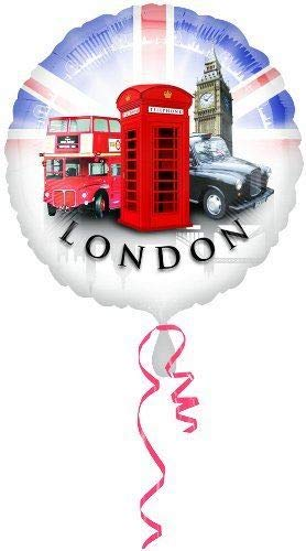 Amscan Ppp 18-inch Great Britan London Icons Balloon]()