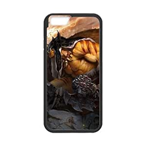 iphone6 4.7 inch phone case Black Rexxar World of Warcraft WOW TTS4328861