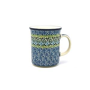 Polish Pottery Mug – Big Straight Sided – Tranquility