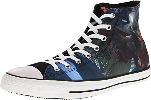 Converse Men's CT Hi The Dark Knight Rises Black/Chili Casual Shoes 4 Men US / 6 Women -