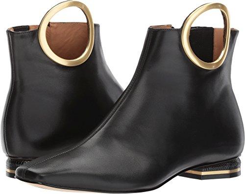 Nuevo precio barato Cuenta atrás para la venta Calvin Klein Para Mujer Del Blondie Negro Becerro Lisa / Elástico 5CrB3dp