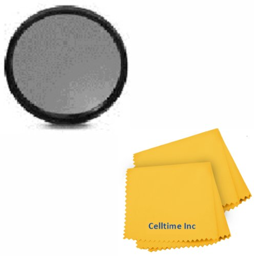 77MM ND Filter for CANON (24-105MM, 10-22MM, 17-40MM) and NIKON (28-300MM, 18-300MM) DSLR Zoom Lenses + Celltime Elite Cleaning Cloth